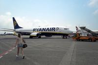 アイルランドを本拠とする格安航空会社(LCC)「ライアンエア」。