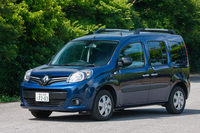 「ルノー・カングー ゼンEDC」は日本に向けて開発されたモデル。