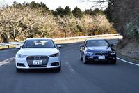 「BMW 3シリーズ」に、ついに1.5リッター直3ターボが搭載された。そのドライバビリティーや実際の燃費を確認するため、ライバルの「アウディA4」「レクサスIS200」とともに走らせた。(photo:小河原 認)