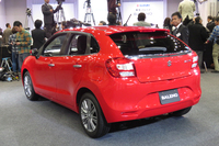 スズキの新型コンパクトカー、バレーノ発売の画像