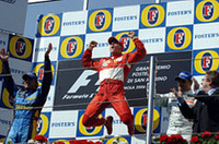 【F1 2006】第4戦サンマリノGP、跳ね馬復活!シューマッハー大接戦を制し久々の快勝の画像