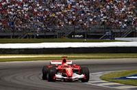 【F1 2005】第9戦アメリカGP、6台のみの出走でシューマッハー/フェラーリ優勝、ミシュラン勢参戦せずの画像