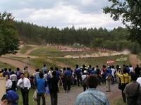 WRCよかったけど問題も。コースのほとんどが、このように遠いのだ……。