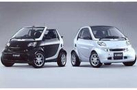 「スマート クーペ」と「カブリオ」にスポーティな限定仕様車の画像
