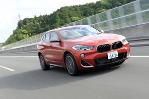 BMW X2 M35i(4WD/8AT)【試乗記】