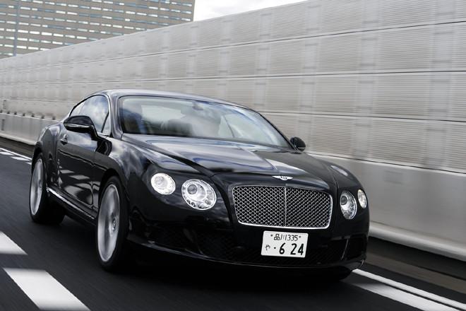 ベントレー・コンチネンタルGT(4WD/6AT)【試乗記】