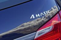 メルセデス・ベンツの「4MATIC」(4WD)は、大きく分けて3つのシステムがある。今回試乗した「CLSシューティングブレーク」「GL」「GLK」に採用されるエンジン縦置き用タイプと「Gクラス」専用のオフロードタイプ、そして「CLA」用に新しく開発されたエンジン横置き用タイプだ。