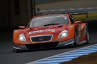 2013年のSUPER GT最終戦を制した、No.6 ENEOS SUSTINA SC430(大嶋和也/国本雄資組)。