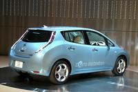 日産の新型電気自動車「リーフ」がお披露目にの画像