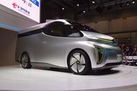トヨタ車体のコンセプトモデル「LCV D-カーゴ コンセプト」。