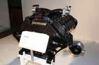 5リッターV8ツインターボエンジンは、1200psを生み出す。