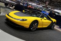 ピニンファリーナが展示した「フェラーリ・セルジオ」。6台が限定生産される。