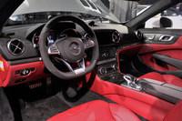 メルセデス・ベンツが「SL」に新しいフロントデザインを採用の画像