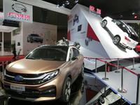 あまたある中国の自動車メーカーの中でも、主要なモーターショーに出展しているのはごく一部の大手メーカーのみだ。写真は広州汽車のブースの様子。