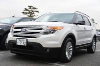 フォードの看板車種「エクスプローラー」。当初は「『エコブースト』搭載車の販売比率は2割くらいと考えていた」とのことだが、その結果は本文の通り。フォードにとってはうれしい誤算だったようだ。