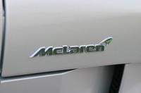 燦然と輝く「Mclaren」のロゴ!