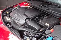 「CLA250」に搭載される、2リッター直4ターボエンジン。