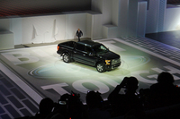 北米国際自動車ショーにおいて発表された、新型「フォードF-150」。日本ではなじみの薄い車種だが、アメリカを象徴するベストセラーモデルである。