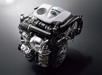 2リッター直4直噴ターボエンジン(写真)は、低回転域から豊かなトルク特性と、優れた燃費性能がセリングポイント。