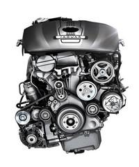 高効率がうたわれる、2リッター直4ターボエンジン。今回新たに、「XF」と「XJ」に搭載される。