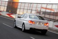 BMW 523dブルーパフォーマンス Mスポーツ(FR/8AT)【試乗記】の画像