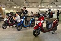 ホンダ、12年ぶりに原付きバイクを新規開発の画像