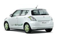 スズキ、「スイフト」ベースのEVを公開【東京モーターショー2011】の画像