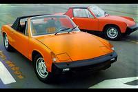 ポルシェとフォルクスワーゲンのタッグにより、1969年に生まれたスポーツカー「VW-ポルシェ914」。フォルクスワーゲン製のフラット4とポルシェ製のフラット6、2種類のエンジンがミドに積まれた。