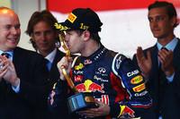 セバスチャン・ベッテル(写真)が1ストップでモナコ初優勝。2位フェルナンド・アロンソ、3位ジェンソン・バトンとの激しいトップ争いを制した。(Photo=Red Bull Racing)