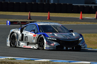 ホンダ勢として期待のかかった、No.18 ウイダー モデューロ NSX CONCEPT-GT。予選と同じ3位でレースを終えた。
