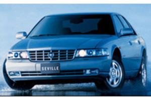 キャディラック、「ドゥビル」「セビル」「CTS」の2004年モデル発表