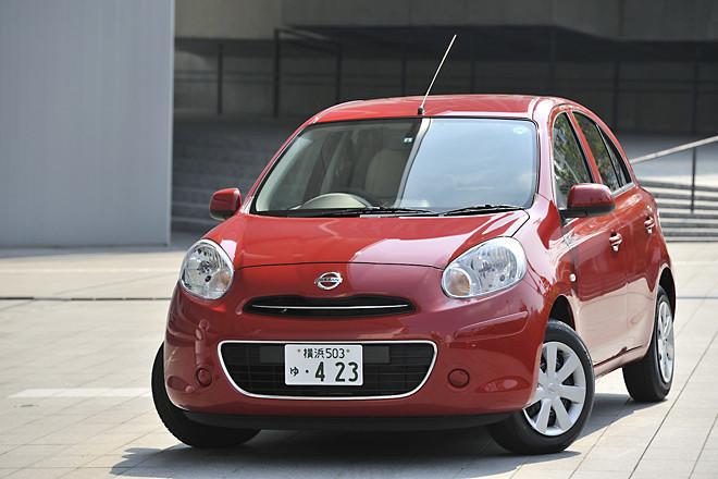日産マーチ12G(FF/CVT)【試乗速報】