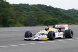 ツインリンクもてぎで行われた歴史的レーシングマシンの走行テストを紹介。