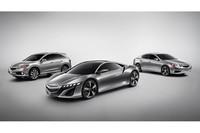 ホンダ、「NSXコンセプト」など3モデルを公開【デトロイトショー2012】の画像