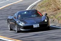 「フェラーリ458スパイダー」