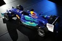 F1ザウバーのニューマシン「C23」発表の画像