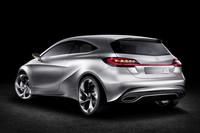 ダイムラー、次期Aクラスのコンセプト車を出展【上海ショー2011】の画像