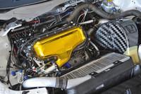 「ホンダ・シビックWTCC」のエンジン。