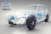 マイルドハイブリッド車も、ボルボ電動化の一翼を担う。