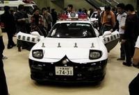 千葉県警高速隊「RX-7」のパトカー!