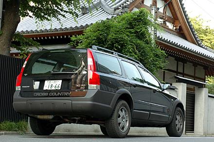 ボルボXC70ブラックサファイア(5AT)【ブリーフテスト】