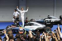 過去2年、鈴鹿でポールを取っても勝てなかったロズベルグが3度目の正直でポール・トゥ・ウィンを達成。チャンピオンシップでは33点ものリードを築き、残り4戦に向かうこととなった。メルセデスは、鈴鹿での1-3フィニッシュにより、3年連続でコンストラクターズタイトルを獲得した。(Photo=Mercedes)