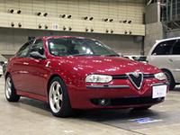 写真F:老舗ショップ、コルトレーンはアルファ156にイタリア製のスピーカーを付けてコンテスト参加。他メーカーの製品の参加を認め、いい音ならきちんと評価する度量の広さもパイオニアならでは。