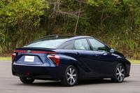 車両のコンセプトや外観デザインは、2013年の東京モーターショーに出展された「トヨタFCVコンセプト」のものを踏襲している。