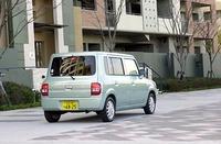 スズキ・アルト ラパンX(2WD/4AT)【試乗記】の画像