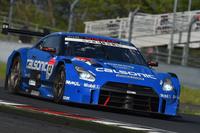 第2戦のGT500クラスを制した、No.12 カルソニックIMPUL GT-R(安田裕信/J.P・デ・オリベイラ組)。