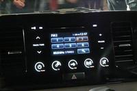 タッチパネル式のオーディオ。なお、オーディオレス仕様もオプションで用意される。