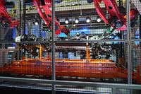 展示エリア内に再現された、「F-150」の生産ラインの様子。