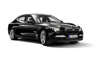 「BMW7シリーズ」の「M Sportパッケージ」装着車。
