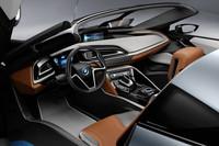 BMW、「i8コンセプト」のオープンカー版を発表の画像